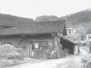 图2-1 金龙坪村村民旧居