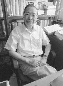 杨天石教授(作者拍摄)