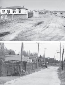 图3-2 六户村的入户路