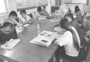 图2-1 课题组农村问卷调查