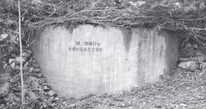 """图2-4 牛村""""四项行动计划""""修建的小水池"""