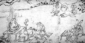 鸟羽僧正(Toba Sōjō)绘卷