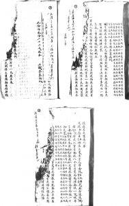 图1-6 《宝坻档案》28-1-54-40所附签条举例