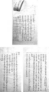 图1-10 仁井田文库《读例存疑》稿本第二册不同笔迹举例