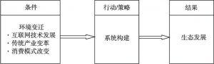 图3-6 核心范畴的范式模型