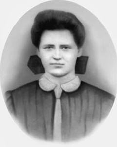 梅·克罗,拍摄于1912年遇害前