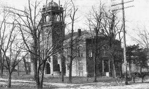 卡明法院,拍摄于1912年前后