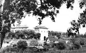 图5-4 兴化府城墙(拍摄于民国初)