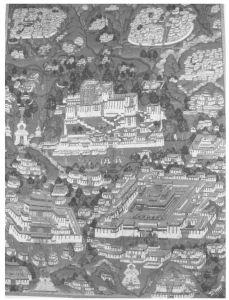 布达拉宫早期形状