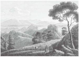 恰克图俄中边界形势图(中方)