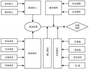 图4 流动与迁移决策的影响因素