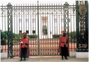 塞内加尔总统府(作者实地拍摄)