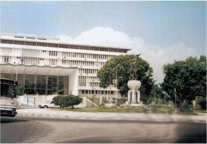 塞内加尔议会大厦(作者实地拍摄)