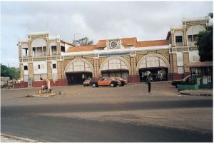 达喀尔火车站(作者实地拍摄)