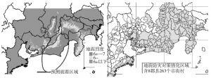 图11-2 日本东海地震应急联动区域