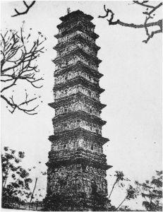 图5 12~13世纪李代永福省平山砖塔