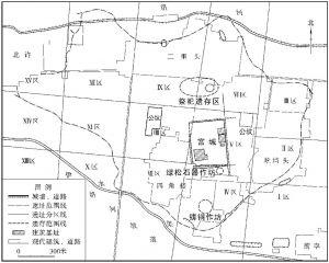 图1-8 二里头遗址平面图
