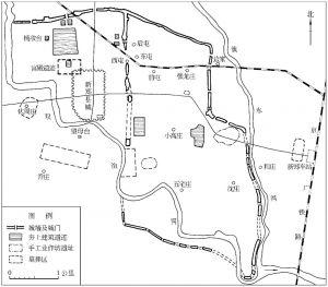 图6-4 郑韩故城平面图