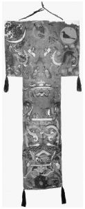 马王堆汉墓出土的彩绘帛画