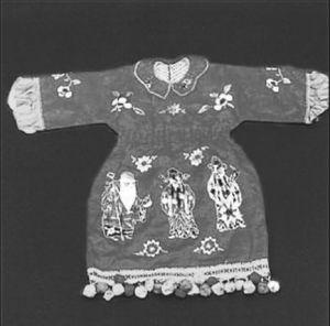 图4-10 福禄寿童衣