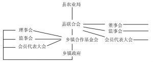 图8-1 农村合作基金会的组织结构