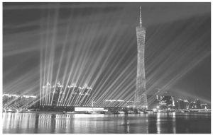 图5 广州小蛮腰夜景
