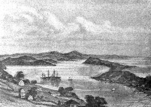 图12 符拉迪沃斯托克港(据普尔热瓦尔斯基—泽列宁Пржевальский-Зеленин)