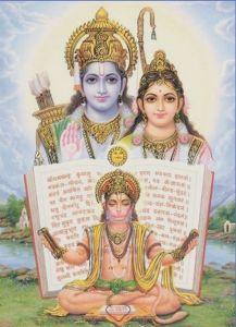 印度百姓膜拜的哈奴曼及其主人