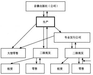 图6 中国音像业发行体系