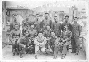 图3-36 1947年元旦厦门正大总局全体职员合影