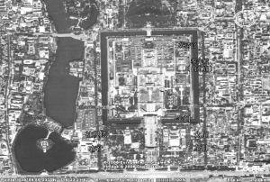 图31 北京故宫建筑平面鸟瞰