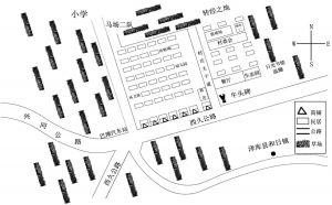 图2 果洛新村平面示意图