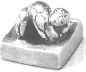 图3-2 滇王金印背面