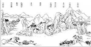 辋川别业图(局部)