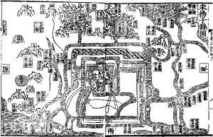 图1 宋真州城图