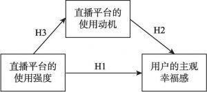 图1 本研究的理论框架与研究假设
