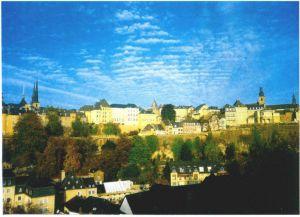 卢森堡——城墙和古建筑