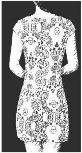 图1-8 旗袍