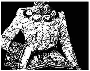 图1-10 青花瓷
