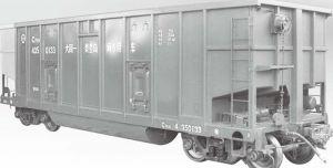 图2-9 C80型专用敞车