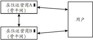 图5-2 网络双向接入示意