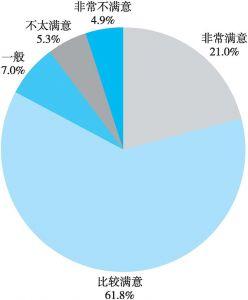 图6 网络评论的公众满意度