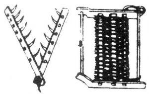 图17 北方旱地使用的耙和耢