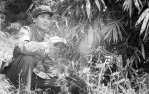 作者1979年在云南边防部队照片