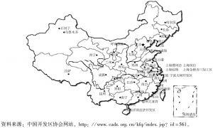 图5-2 国家级经济经济技术开发区分布