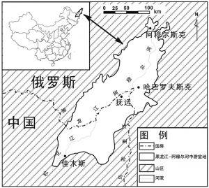 图1 黑龙江—阿穆尔河中游盆地