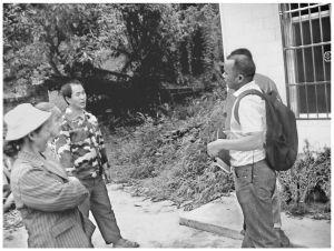2011年11月,课题组成员在云南深入归侨侨眷群体中调研