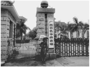 2010年10月,课题组成员到百色华侨农场调研