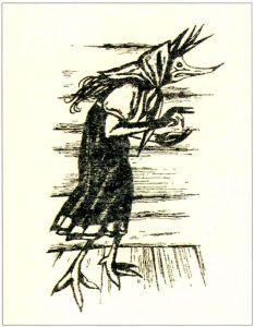 女性怪物基基莫拉