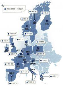 2006年欧洲主要国家GDP